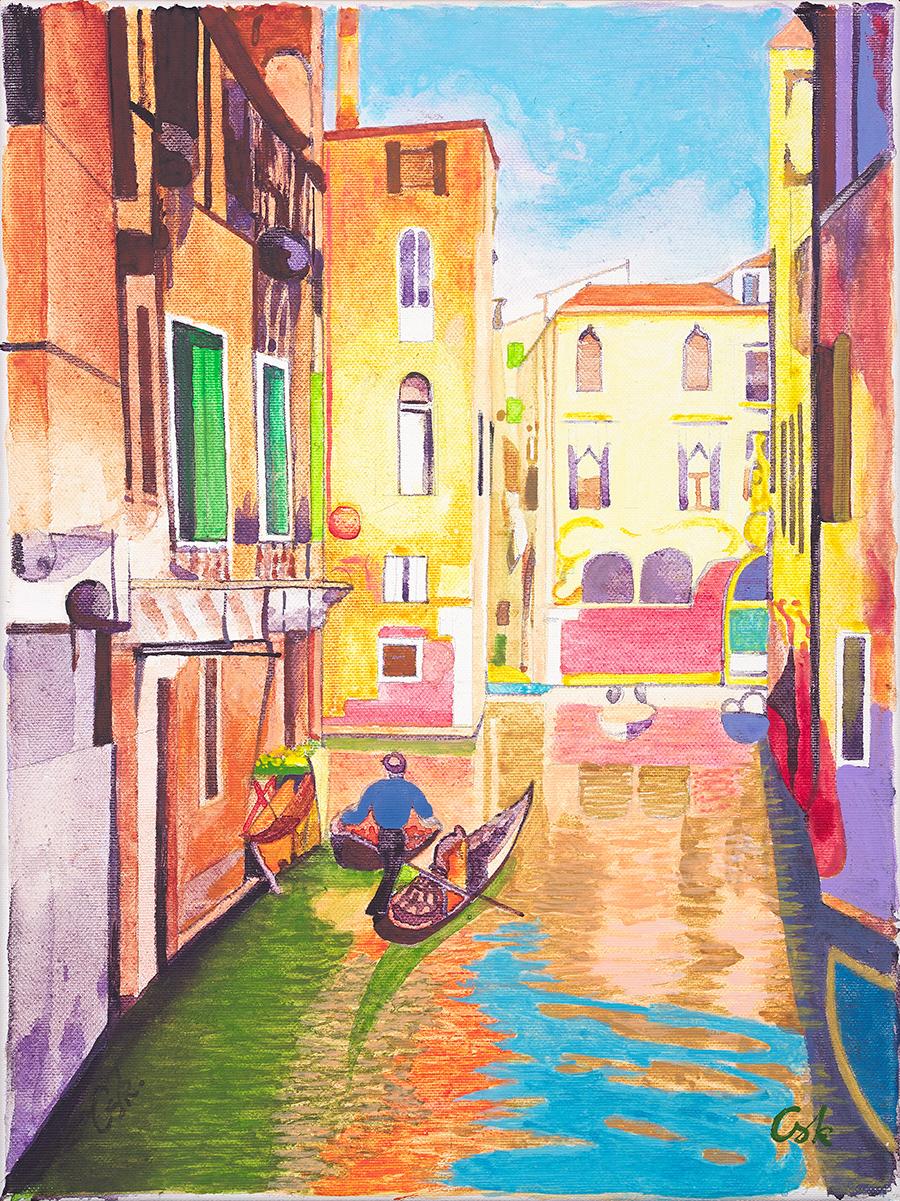 Ciosek Bogumiła, Wenecja, 2020