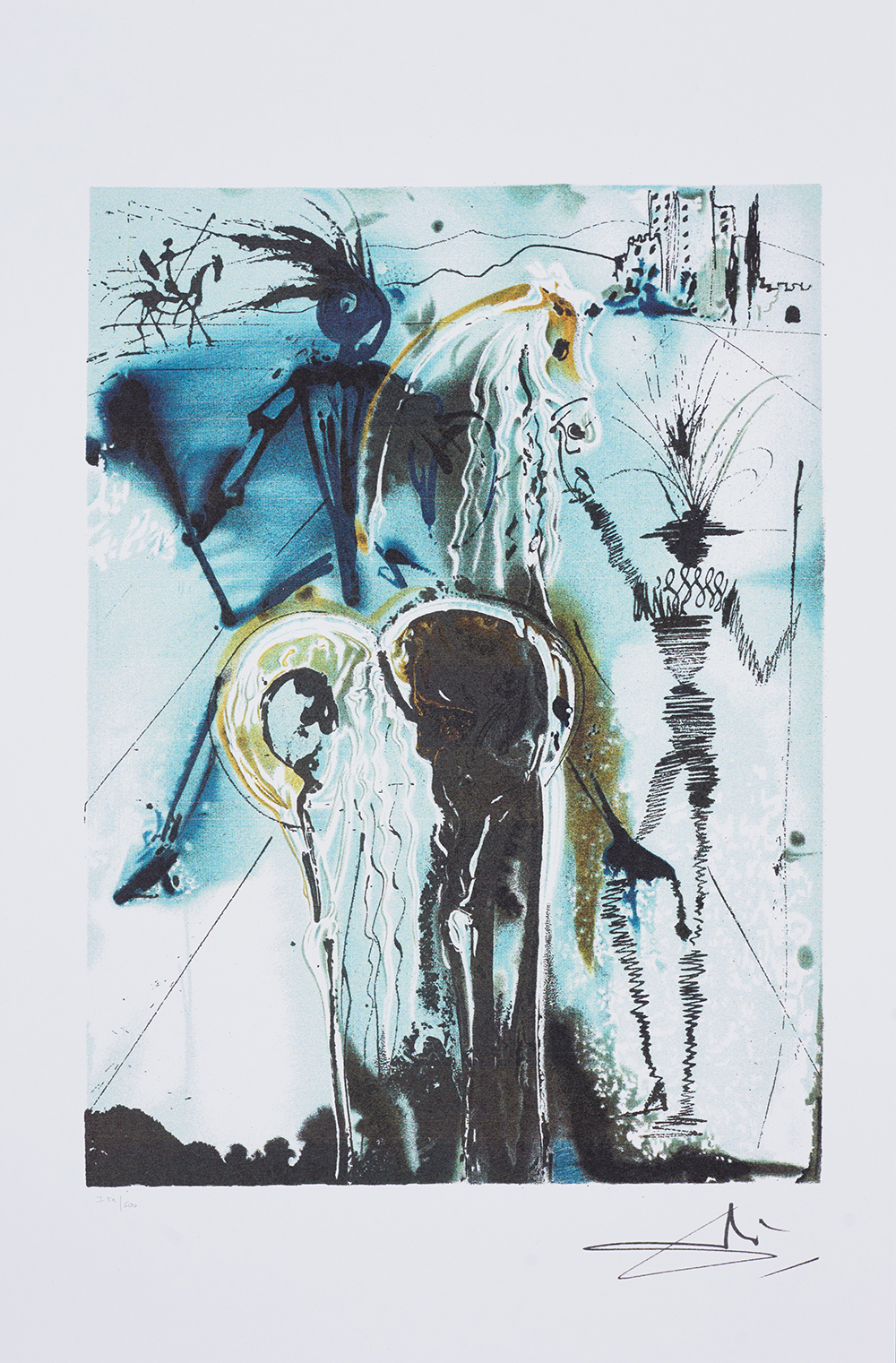 Don Quichotte, Dalinean Horses